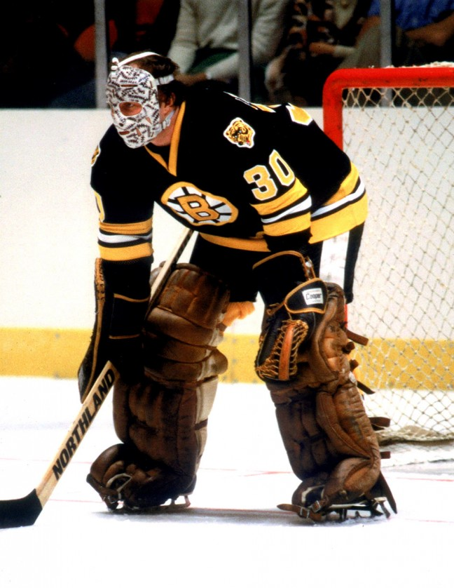Gerry Cheevers, who played for the Boston Bruins, will be signing autographs. CREDIT: Downtown Kingston!