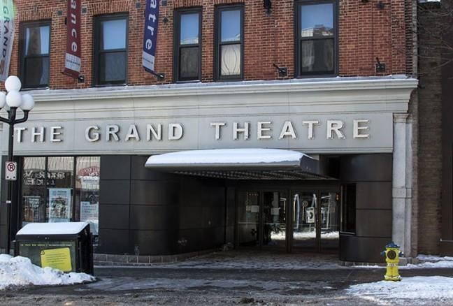 The Grand Theatre will be showing a lot of the films on display
