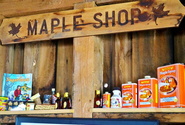 The Maple Shop – products range from maple butter, maple sugar to maple dip. Cash Only