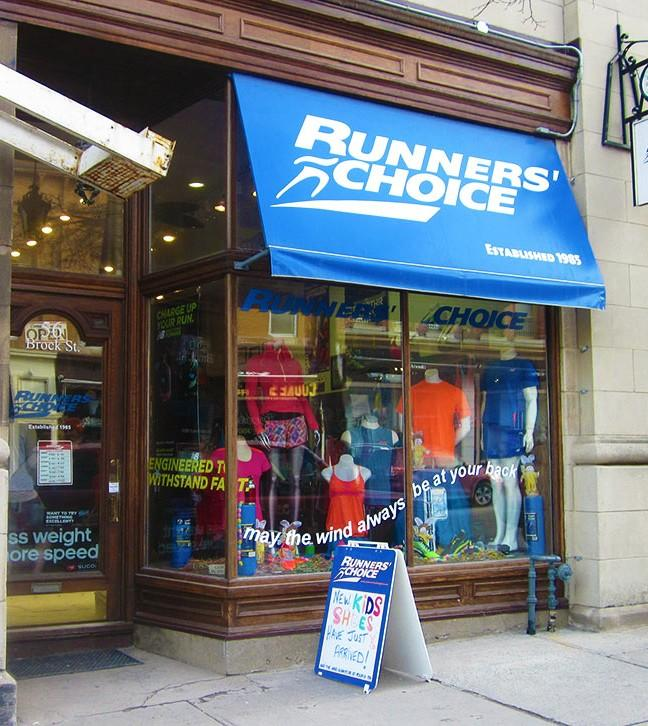 """A runners wish: """"May the wind always be at your back."""""""