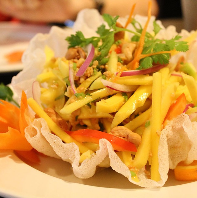 Looking for a summer fresh salad? Try the Mango Salad!