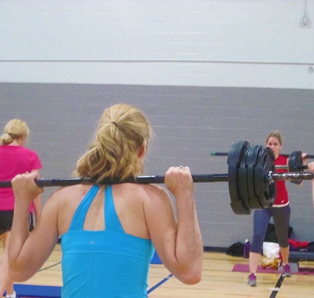 Free weights or barbells, a light load or a heavy one, it's your choice.