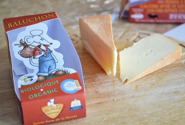 The 2014 Canadian cheese of the year – Le Baluchon from Quebec.