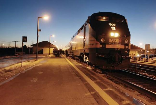 Travel in comfort onboard a VIA Rail trail.
