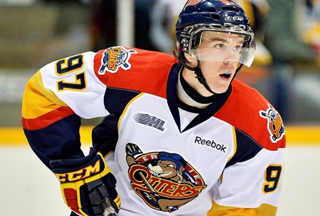 Take in the skill of Erie Otter phenom Connor McDavid before he becomes an NHL star. (photo by Bobskin 411/Wiki Commons)