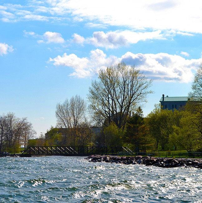35. Bundle up and walk along the Kingston Waterfront