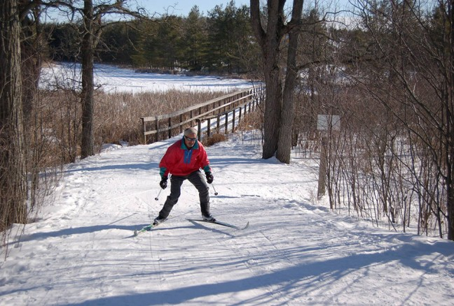 """Skiing at """"Little Cat"""" (photo courtesy of CRCA)"""