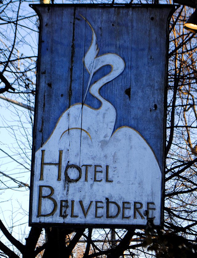 """In the 1940's, Vogue Magazine described Hotel Belvedere as """"the only reasonable place to stay between Montreal & Toronto"""""""