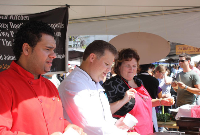 The King Street Sizzle crew will be at Taste of Kingston all day, but no word yet on what culinary wonders they'll have up their sleeves. (Photo: LexnGer/Flickr)