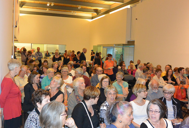 The packed June 25th event that marked the start of 2015 ticket sales.