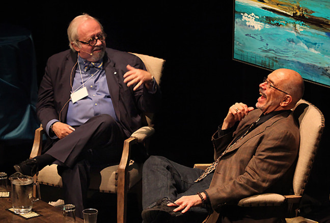 The 2014 International Marquee with Wally Lamb recounting some humorous book signing memories.