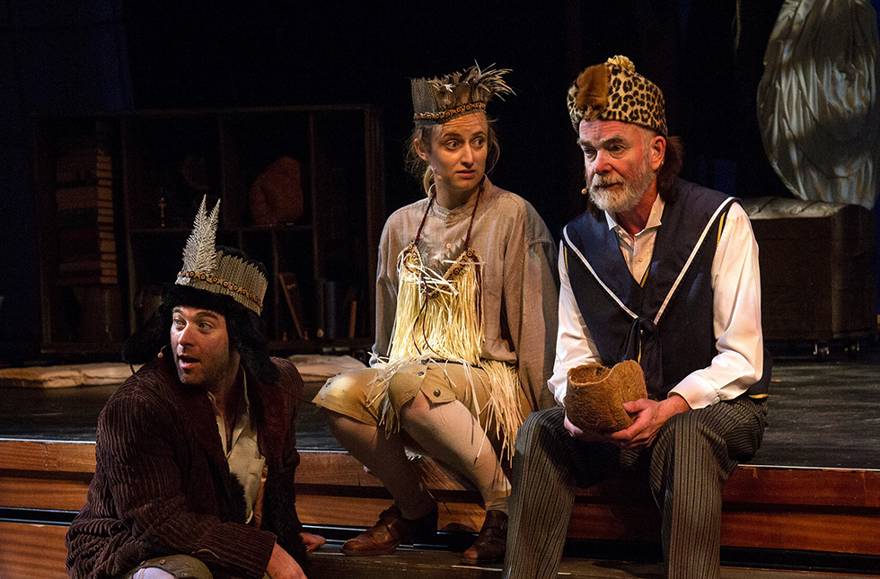 From the 2015 production of Shipwrecked, Photo by Mark Bergin.