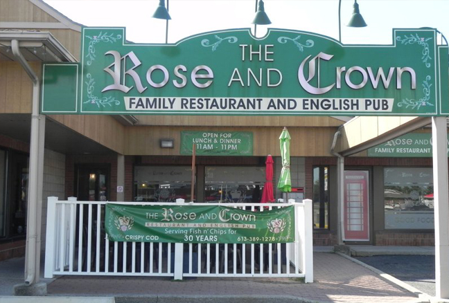 Photo from The Rose and Crown's official website.