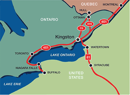 Getting to Kingston  Visit Kingston  Your Next GetAway Is Here