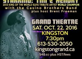 In Concert with Elvis Starring Tim 'E' Hendry