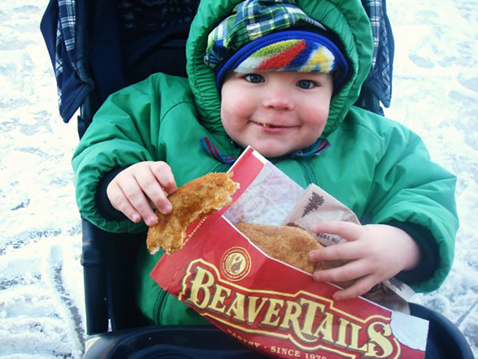 Beavertails are enjoyed by ALL ages ;)