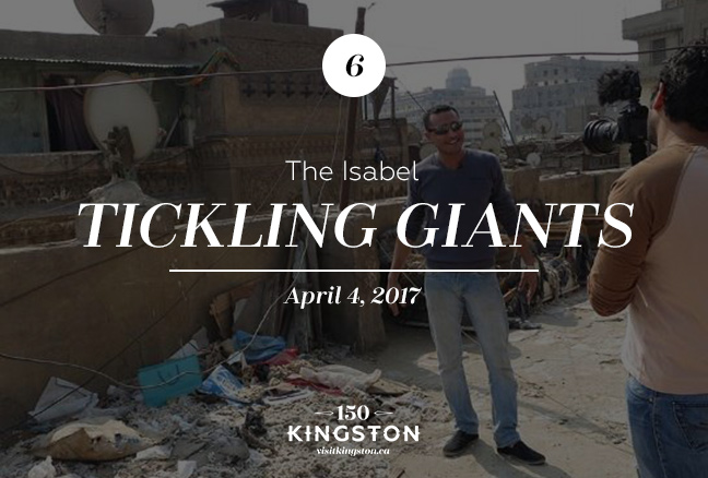 Event: Tickling Giants at The Isabel Date: April 4, 2017