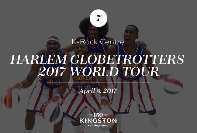 Event: Harlem Globetrotters 2017 World Tour at K-Rock Centre Date: April 05, 2017