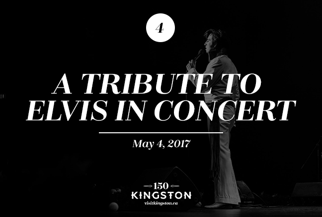 Event: A Tribute to Elvis in Concert Date: May 4, 2017