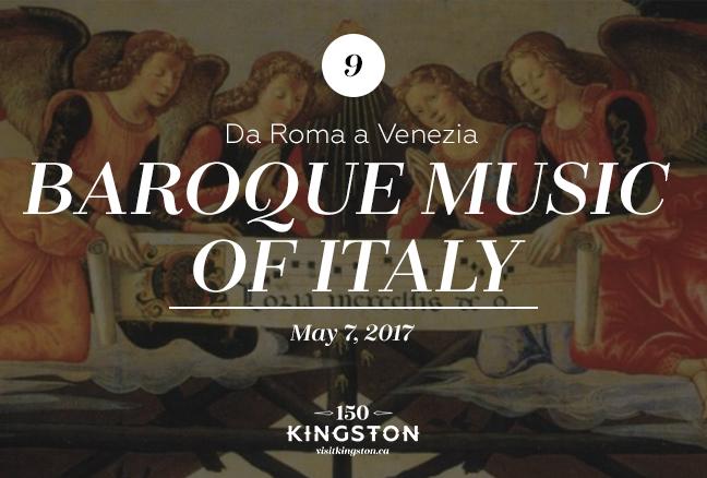 Event: Da Roma a Venezia – Baroque music of Italy Date: May 7, 2017