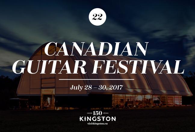 Canadian Guitar Festival - July 28-30