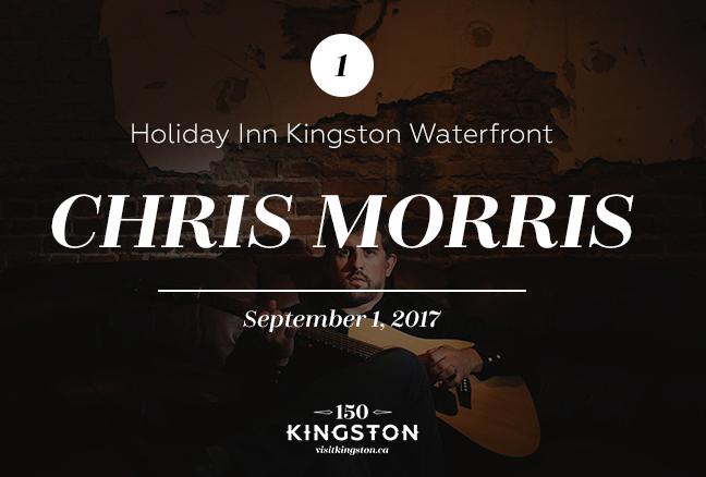 Chris Morris at the Holiday Inn Kingston Waterfront - September 1