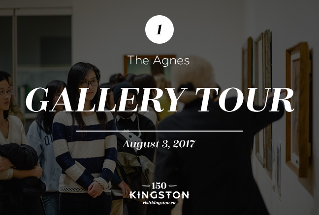 1. Gallery Tour at The Agnes - August 3