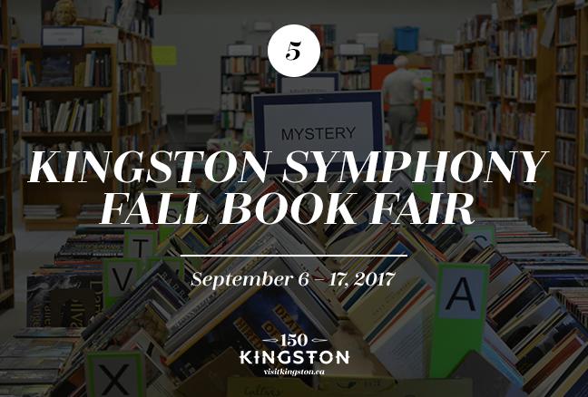Kingston Symphony Fall Book Fair - September 6-17