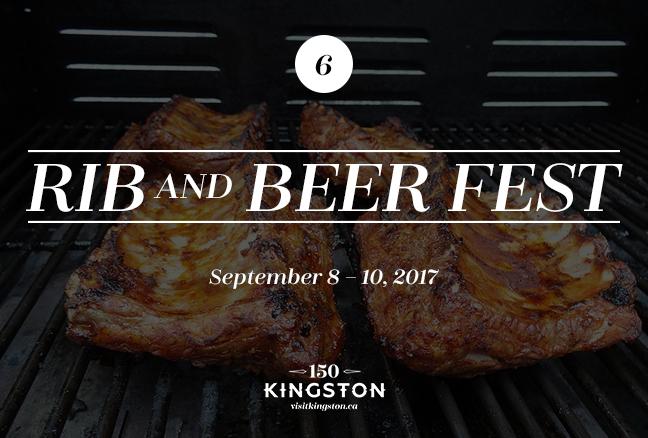 Rib and Beer Fest - September 8-10