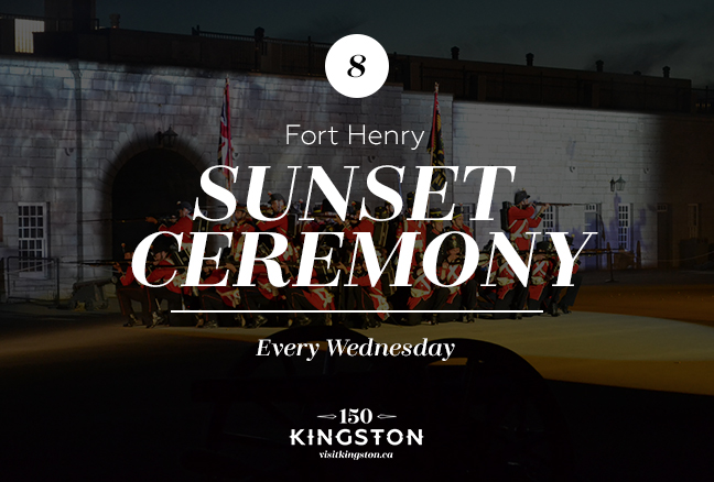 Sunset Ceremony at Fort Henry - Every Wednesday