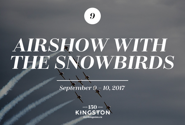 Airshow with the Snowbirds - September 9-10