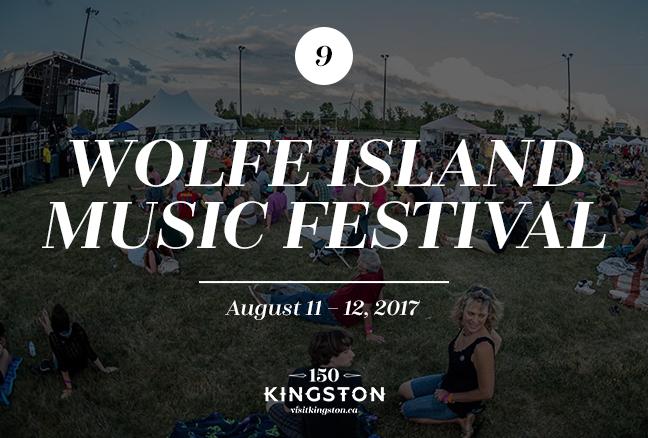 Wolfe Island Music Festival - August 11-12