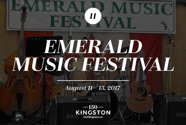 Emerald Music Festival - August 11-13