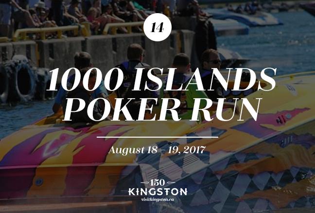 1000 Islands Poker Run - August 18-19