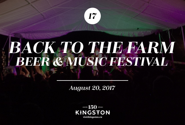 Back to the Farm Beer & Music Festival - August 20
