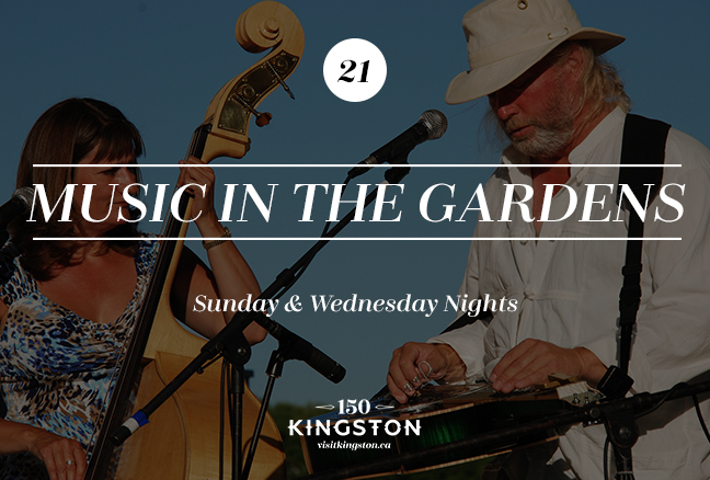 Music in the Gardens - Sunday and Wednesday Nights