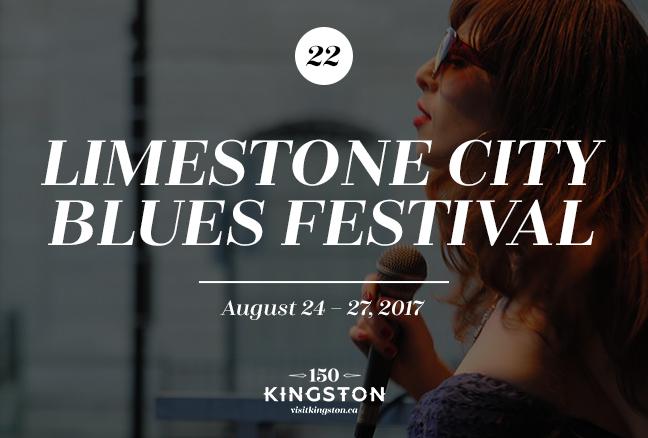 Limestone City Blues Festival - August 24-27