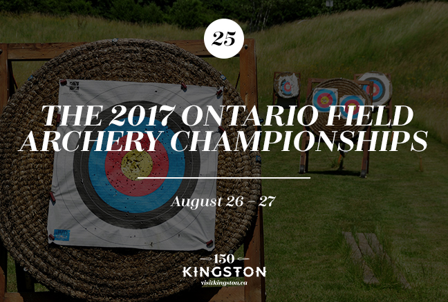 The 2017 Ontario Field Archery Championships - August 26-27