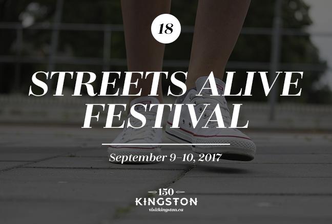 Streets Alive Festival - September 9–10