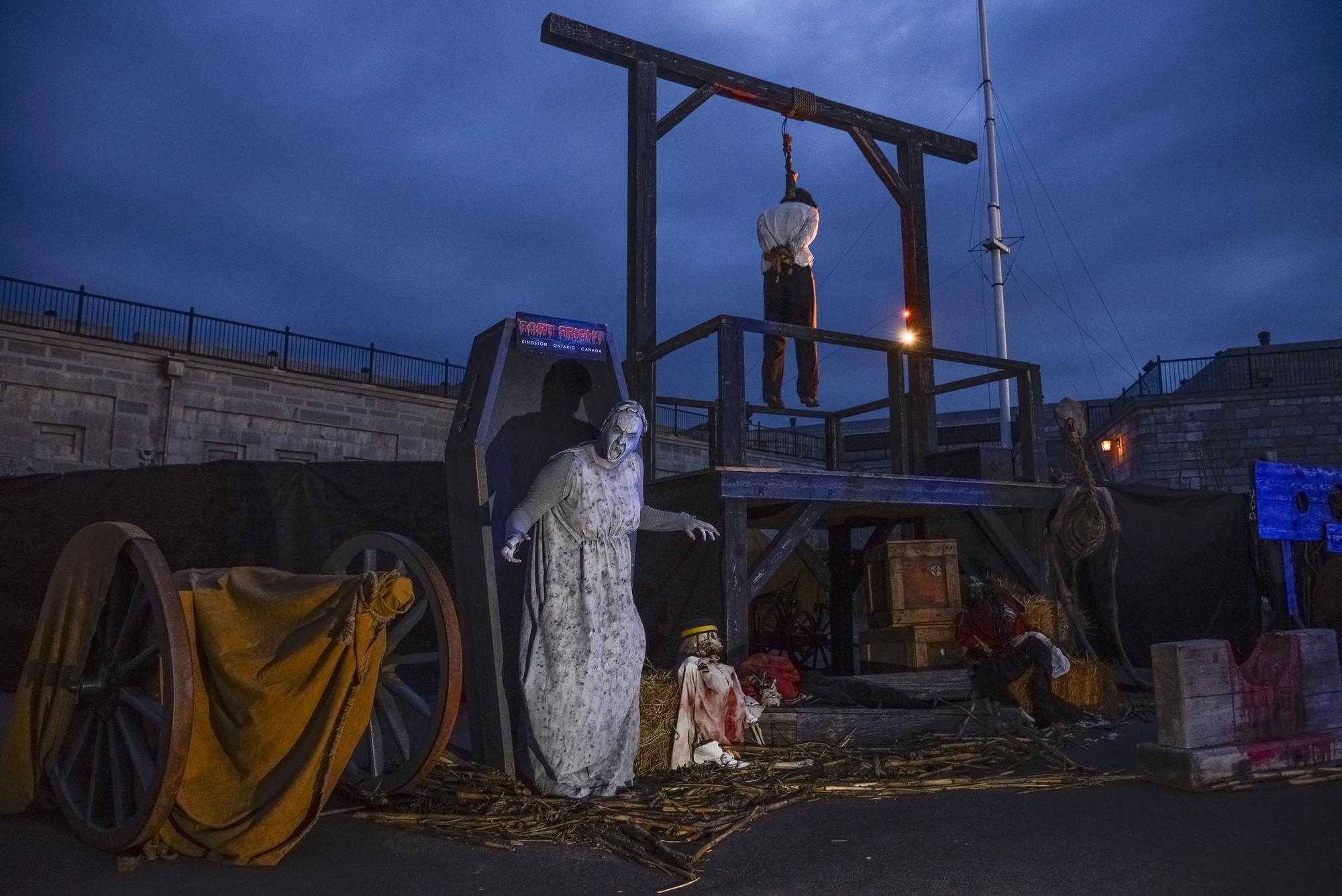Fort Fright Returns With New Nightmare Scares
