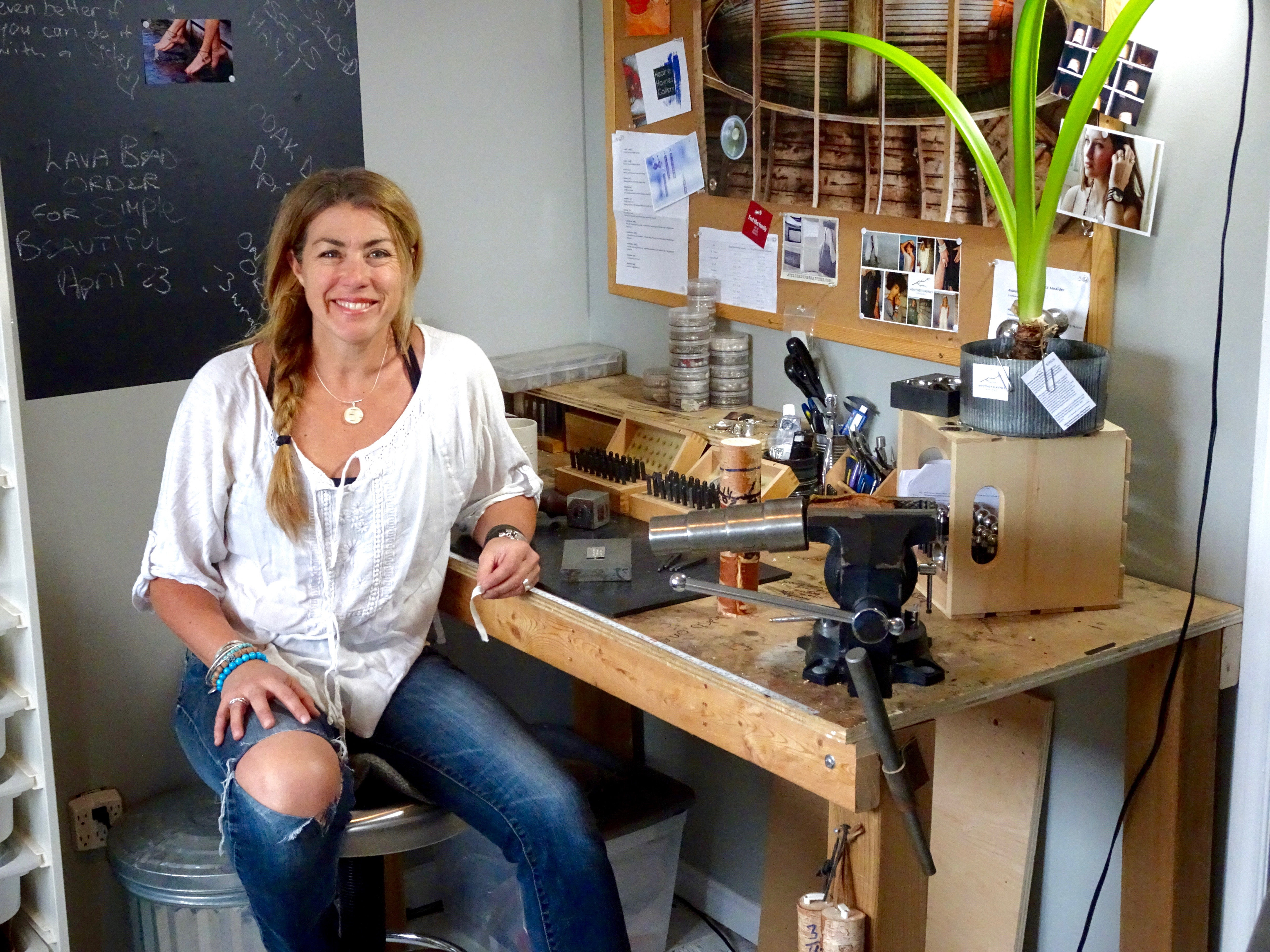 Get to Know a Local Creative - Whitney Haynes Jewelry