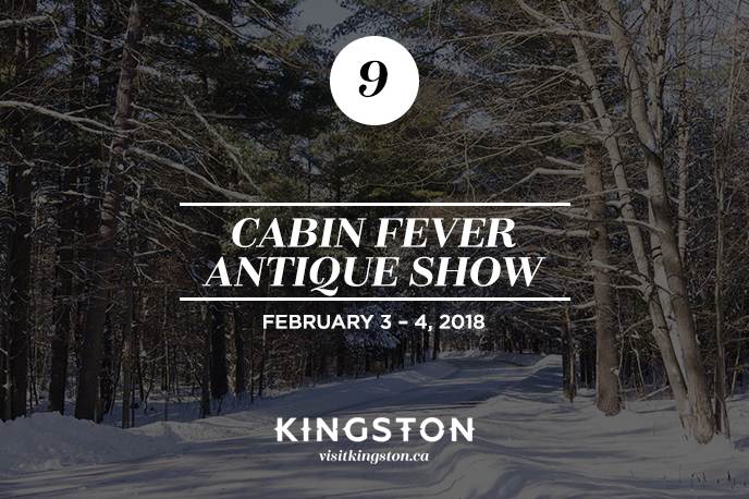 25 Things to do in Kingston Cabin Fever Antique Show
