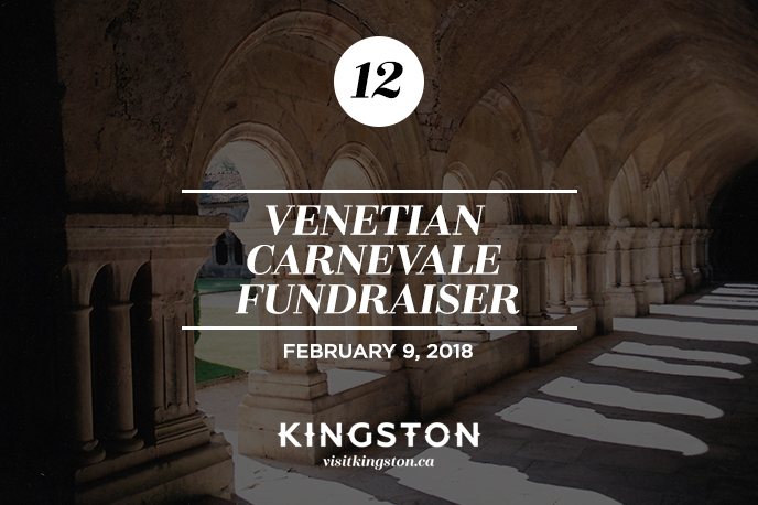 25 Things to do in Kingston Venetian Carnevale Fundraiser