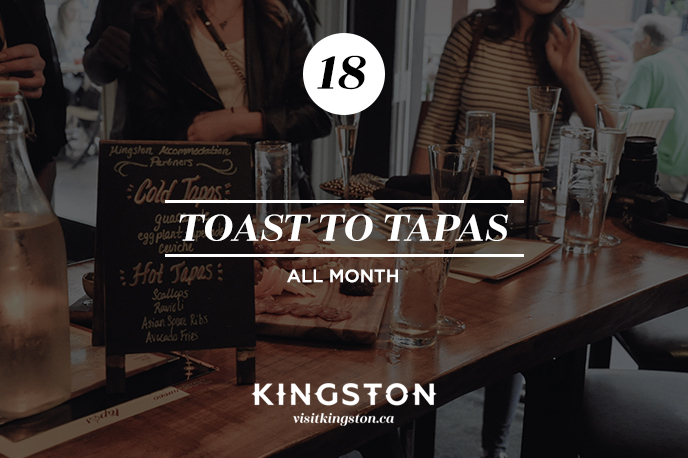 Toast to Tapas Kingston Feb Fest