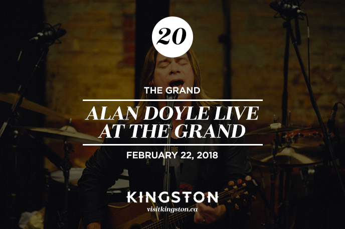 Alan Doyle live at the Kingston Grand Theatre