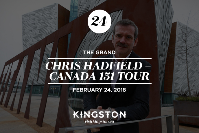 Chris Hadfield at The Grand Theatre