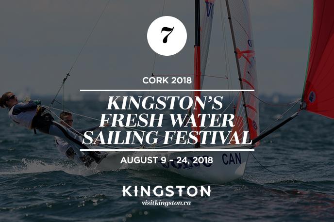 CORK Kingston's Fresh Water Sailing Festival