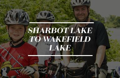 Sharbot Lake to Wakefield Lake