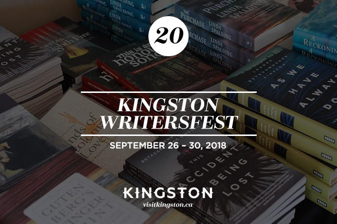 25 Things to Do in Kingston this September 2018
