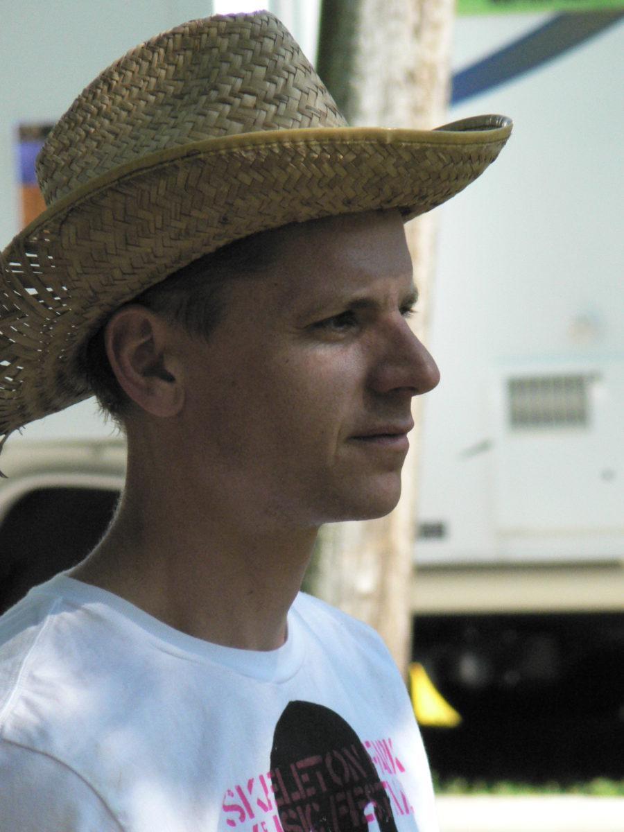 Greg Tilson of Skeleton Park Arts Fest